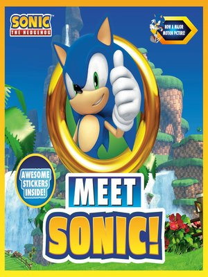 cover image of Meet Sonic!