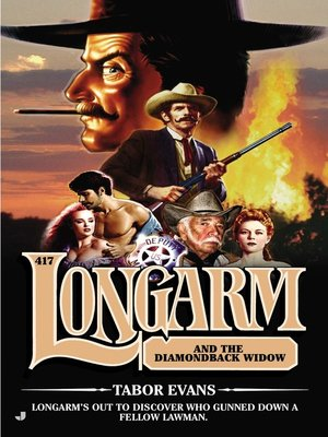 cover image of Longarm and the Diamondback Widow