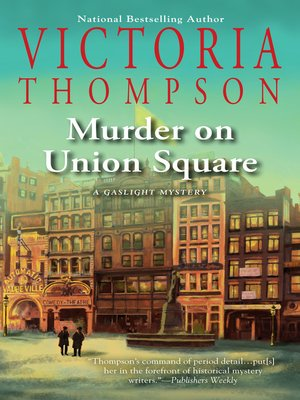 cover image of Murder on Union Square