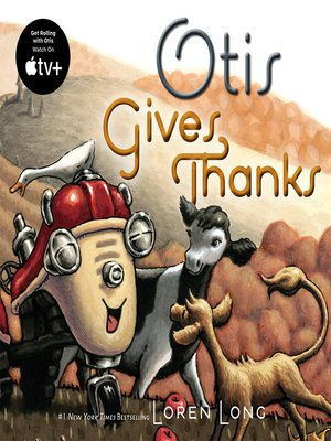 cover image of Otis Gives Thanks