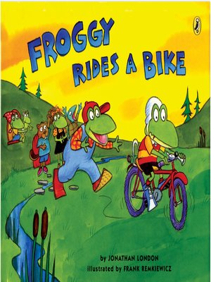 cover image of Froggy Rides a Bike