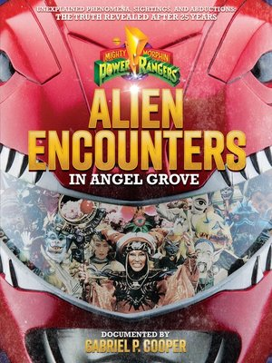 cover image of Alien Encounters in Angel Grove