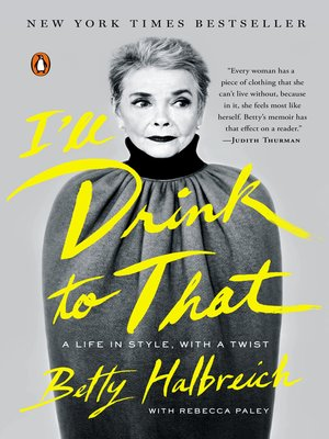cover image of I'll Drink to That