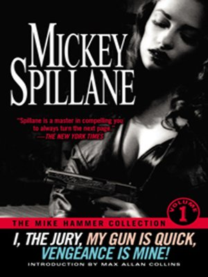 cover image of The Mike Hammer Collection, Volume 1