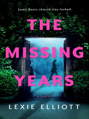 The Missing Years Book Cover