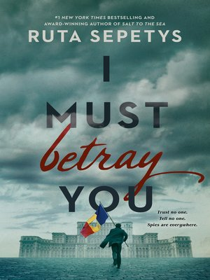 cover image of I Must Betray You
