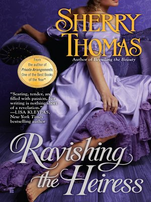 cover image of Ravishing the Heiress