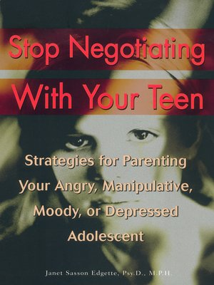 cover image of Stop Negotiating with Your Teen
