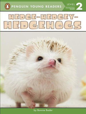 cover image of Hedge-Hedgey-Hedgehogs