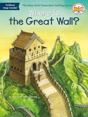cover image of Where Is the Great Wall?