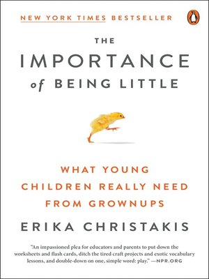 cover image of The Importance of Being Little
