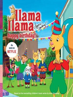 cover image of Llama Llama Happy Birthday!