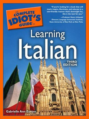 cover image of The Complete Idiot's Guide to Learning Italian