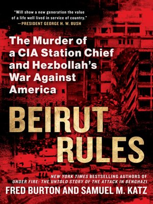 cover image of Beirut Rules
