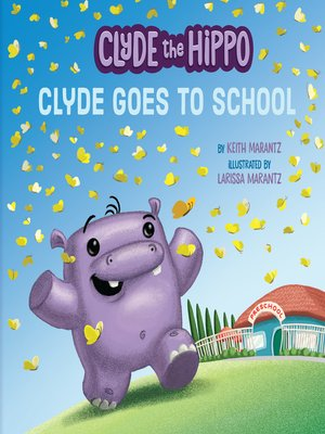cover image of Clyde Goes to School