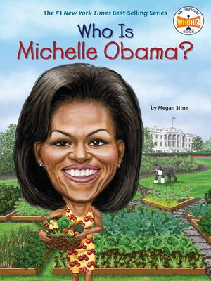 cover image of Who Is Michelle Obama?