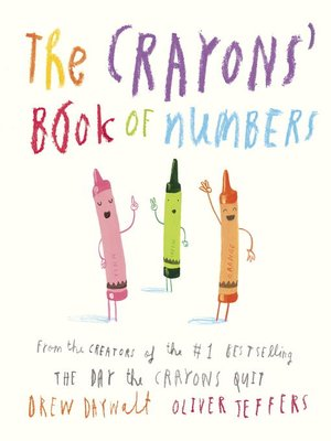 cover image of The Crayons' Book of Numbers