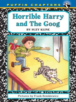 cover image of Horrible Harry and the Goog