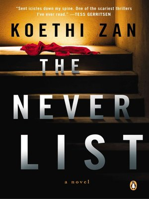 cover image of The Never List