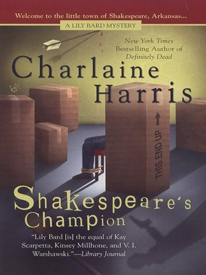 cover image of Shakespeare's Champion