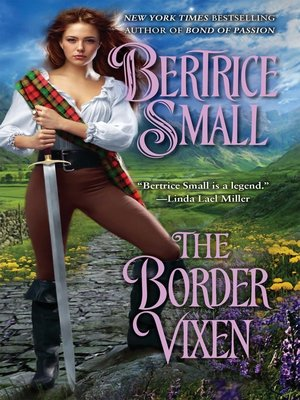 cover image of The Border Vixen