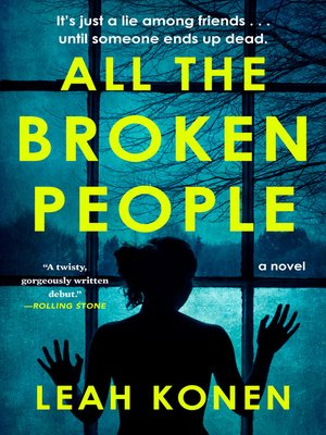 cover image of All the Broken People