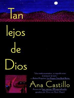 cover image of Tan Lejos de Dios