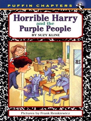 cover image of Horrible Harry and the Purple People