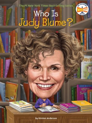 cover image of Who Is Judy Blume?