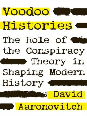 cover image of Voodoo Histories