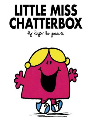 cover image of Little Miss Chatterbox