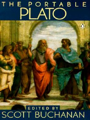 cover image of The Portable Plato