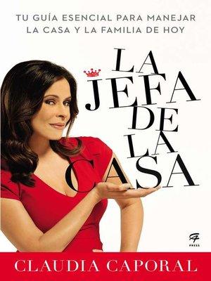 cover image of La jefa de la casa