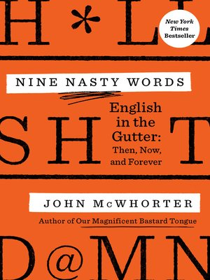 cover image of Nine Nasty Words