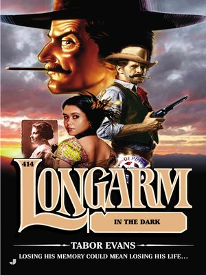 cover image of Longarm in the Dark