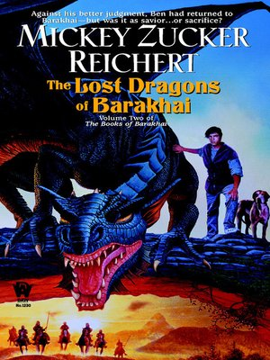 cover image of The Lost Dragons of Barakhai