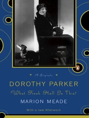 cover image of Dorothy Parker