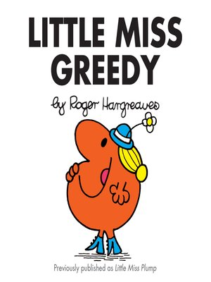 cover image of Little Miss Greedy