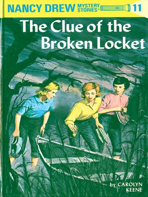 cover image of The Clue of the Broken Locket