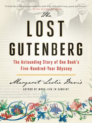 cover image of The Lost Gutenberg