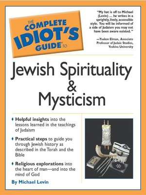 cover image of The Complete Idiot's Guide to Jewish Spirituality and Mystic