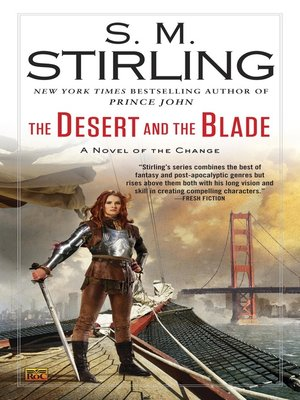 cover image of The Desert and the Blade