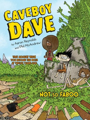 cover image of Caveboy Dave: Not So Faboo