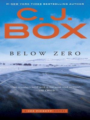 cover image of Below Zero