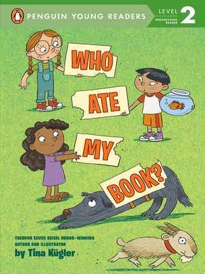 cover image of Who Ate My Book?