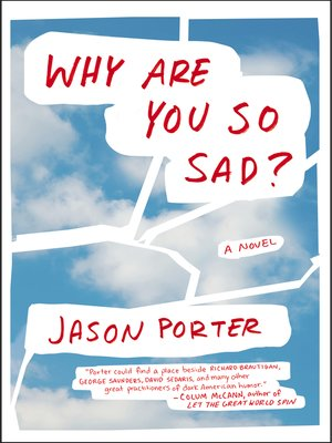 cover image of Why Are You So Sad?