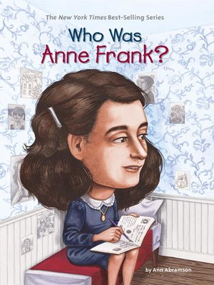 cover image of Who Was Anne Frank?