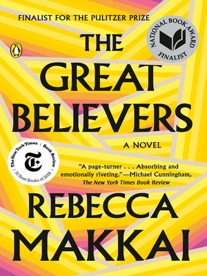 The Great Believers by Rebecca Makkai · OverDrive (Rakuten