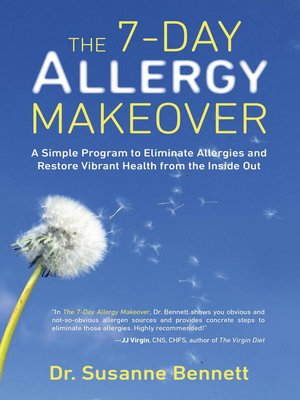 cover image of The 7-Day Allergy Makeover