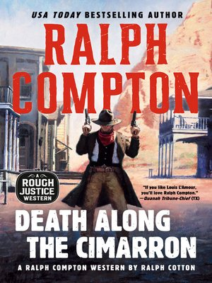 cover image of Death Along the Cimarron
